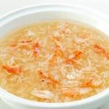 高級食材蟹肉入りツバメの巣スープ