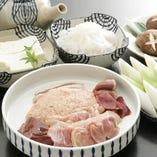 三島由紀夫最期の晩餐コース。 係が最初からお作り致します。