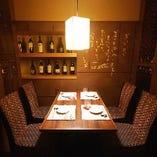 座敷以外にもテーブル席あります。半個室~完全個室まで対応!!