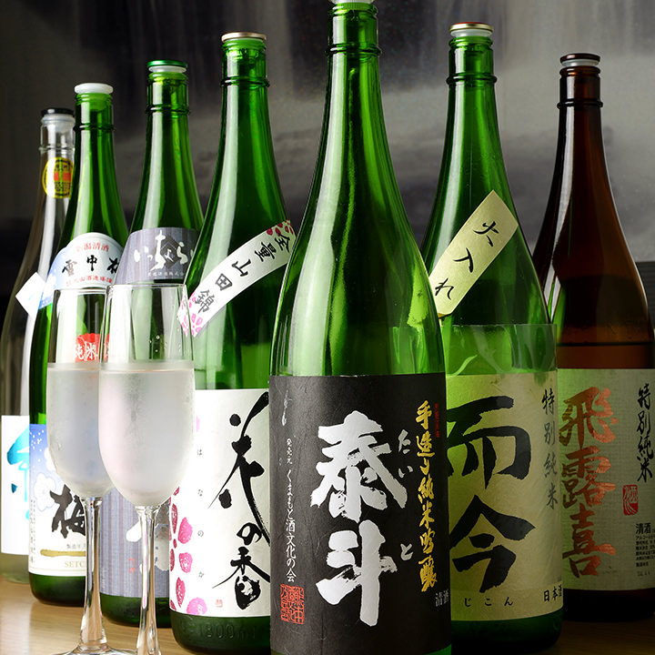 店主の日本酒愛が止まらない!