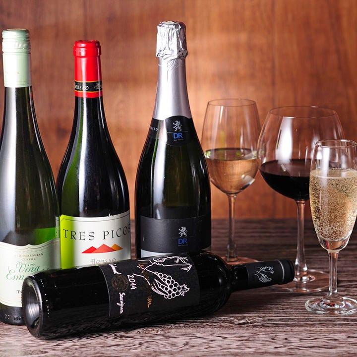 スペイン料理にはやっぱりワイン!