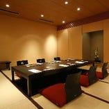 接待・ご会食・お顔合わせに最適な4~20名様完全個室を完備