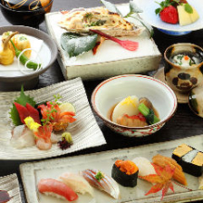 四季を感じる寿司コースでおもてなし