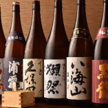 【厳選日本酒】 全国の蔵元より厳選して取り揃えた極上銘酒