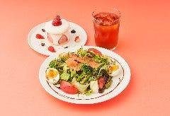 美食家サラダ&デザートセット