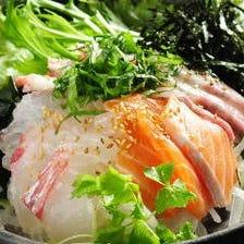 海鮮たっぷりサラダ