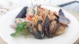 あさりとムール貝の出汁に溺れるボンゴレビアンコ
