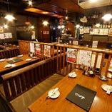 テーブル席(~16名様 ※4名様席×4)
