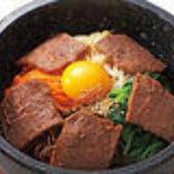 石焼焼肉丼 厚切りのお肉がジューシーです!