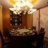6〜10名様でご利用可能なゆったりと寛げる落ち着いた個室
