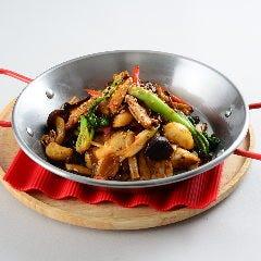 五目キノコ乾鍋スタイル