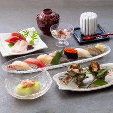 伝統の味を楽しむ老舗江戸前鮨に舌鼓
