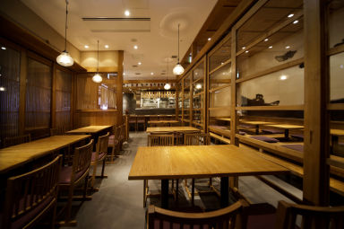 宮崎料理 万作 グランフロント大阪店 店内の画像