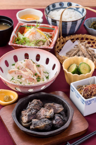 宮崎料理 万作 グランフロント大阪店 コースの画像