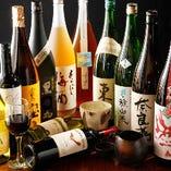 人気のお酒も多数ご用意しております。