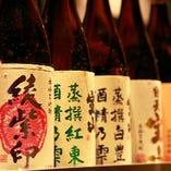 人気のお酒を種類豊富にご用意しております。
