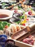 毎日捌く比内地鶏や農家さんから届く野菜を使ったコース料理。