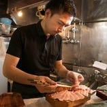 人気料亭で調理経験のあるスタッフが作る、一品料理もご堪能ください