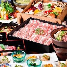 糸島豚と旬野菜の蒸籠