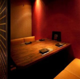 完全個室でプライベートな空間を。