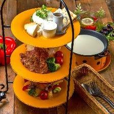 チーズプラッターガーデン