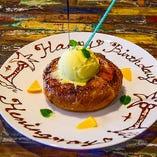 《デザートプレート》誕生日記念日に最適!