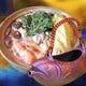 岩魚の骨酒&海鮮鍋