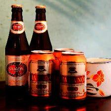 現地気分♪ベトナムビールで乾杯