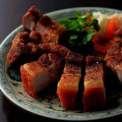 塩豚のカリカリ揚げ