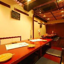 【宴会】掘り炬燵個室席 最大23名様