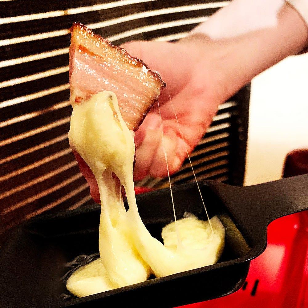 《チーズ》濃厚チーズが絡みつく豪快さをお楽しみください!