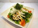 炙り野菜のサラダ ¥680