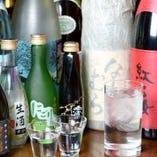 日本酒や焼酎まで。なんでもあります。