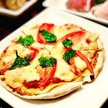 マルゲリータ風ピザ