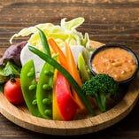 バンバンの野菜スティック 味噌マヨディップ