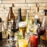 【120分飲み放題】 スーパードライやグラスワイン、多彩なサワーなど約30種類