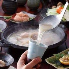 秘伝の水炊きをフルコースで愉しむ