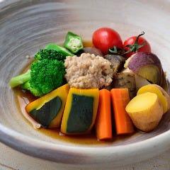 旬野菜炊き合わせ