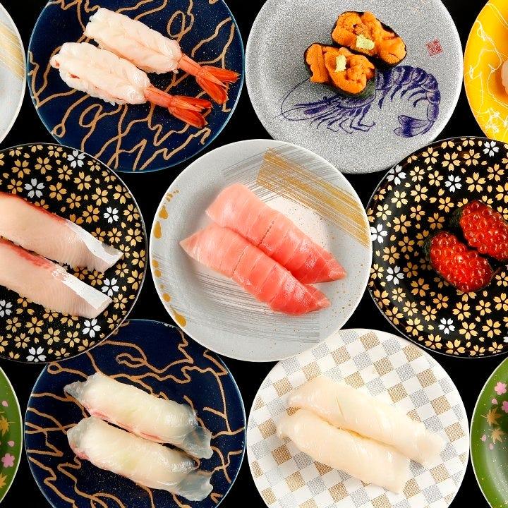日本の四季を感じる新鮮な 「旬」のネタを職人が一貫一貫握る