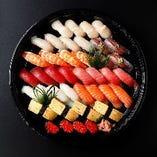 すし華亭のスタンダード寿司 やしお(4人前)
