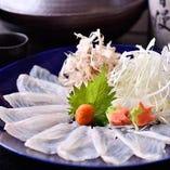 【おすすめ①】 魚の王様クエを贅沢にしゃぶしゃぶでご堪能