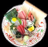 鮮魚の刺し盛り ¥1,800