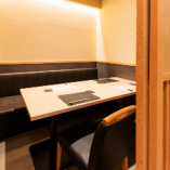 接待や会食にも最適個室席