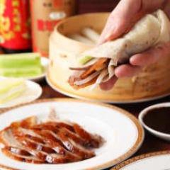 北京ダック食べ飲み放題税込3500円蒲田中華王記酒場  メニューの画像