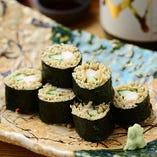 海老巻きそば寿司