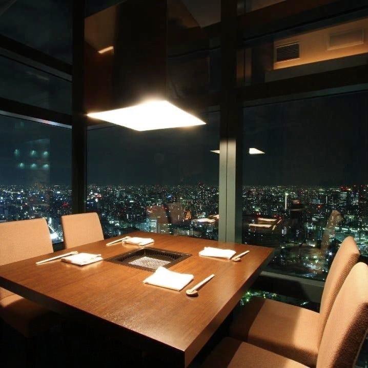 【完全個室】東京スカイツリーの夜景