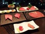 松阪牛・仙台牛など職人が厳選した最高の素材を提供