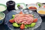 湯霜牛肉の利休膳