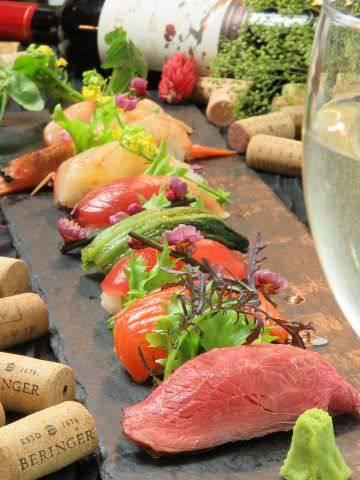 Sushi & Wine Dining TENTO 袋町店  こだわりの画像