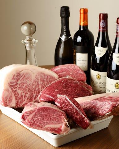 肉 フロマージュ 旬野菜 やまがみ  こだわりの画像